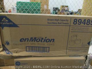 enMotion Brown Touchless Roll Towels