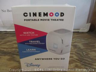 Cinemood Portable Movie Theatre Disney Factory sealed