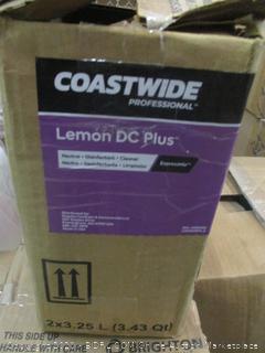 Coastwide Lemon DC Plus  Neutral Disinfectant Cleaner