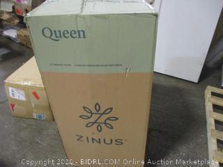 Zinus Memory Foam Queen Mattress