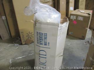 Lucid Memory Foam Hybrid Mattress twin XL