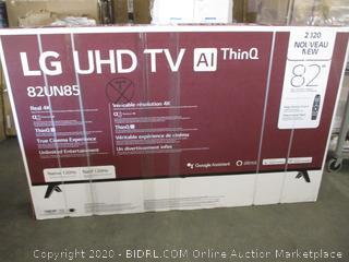 "LG UHD TV 82"" w/Magic Remote Control"
