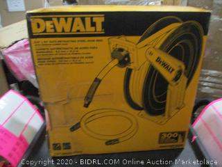 DeWalt Auto Retracting Steel Hose Reel