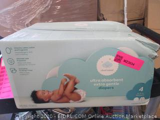 Diapers Size 4 (Box Damage)