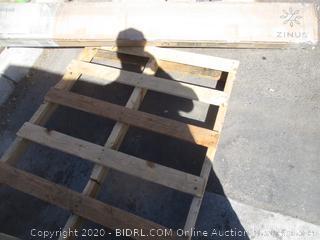 Wood & Metal Bunkie Board  (Please Preview)