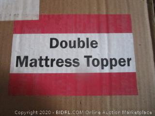 Double Mattress Topper (Please Preview)