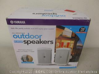 Yamaha All-Weather Outdoor Speakers