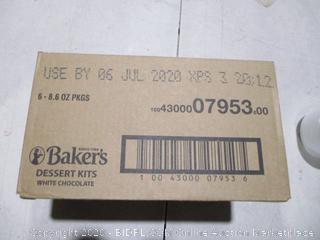Baker's Dessert Kit White Chocolate Cookie Balls