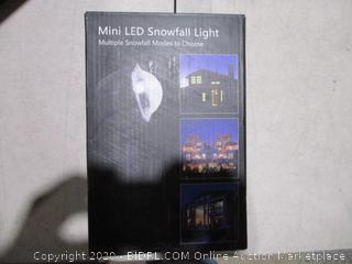 Mini LED Snowfall Light