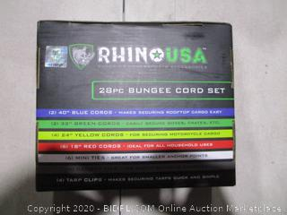 Rhino USA Bungee Cord Set