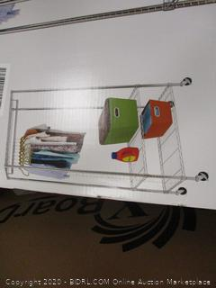 3 shelf Deluxe Garment Rack