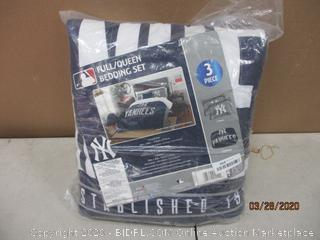 Yankees Bedding Set Size Full/Queen