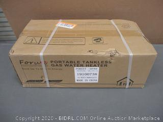 Portable Tankless Gas Water Heater   Factory Sealed