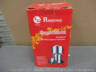 Ririhong General Model Hi Speed Multifunctional Grinder