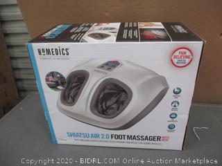 Homedics Shiatsu Air 2.0 Foot Massager  Powers On