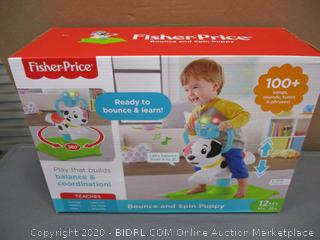 Fisher Price Bounce and Spin Puppy