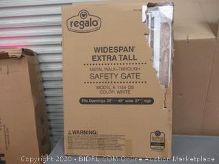 Widespan Extra Tall Metal Walk-Through Safety Gate