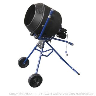 Kobalt utility mixer 4 cubic foot portable mixer (no engine)(Retails $379)