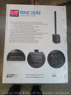 Maui 28 G2 Compact Column PA System with Mixer and Bluetooth