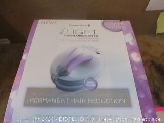 Remington iLighy Permanent Hair Reduction