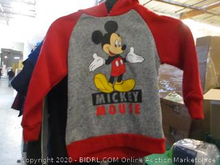 Mickey Hoodie  size 6