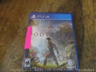 PS4 Assassins Creed  Odyssey