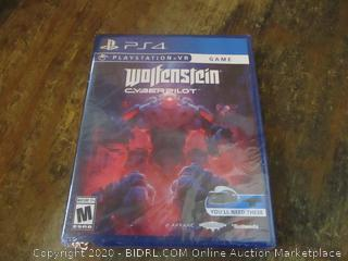 PS4 Playstation VR Wolfensteinn Cyberpilot