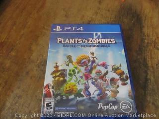 PS4 Plants VS Zombies