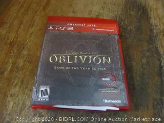 PS3 The Older Scrolls TV Oblivion