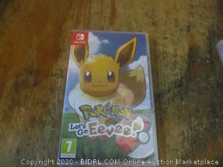Nintendo Switch Pokemon Let's Go Eevee