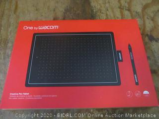 One by Wacom Creative Pen Tablet