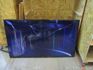 """LG UHD TV 70"""" Cracked screen , Powers on See Pictures"""