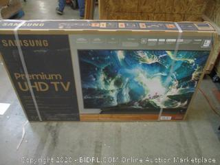 """Samsung Premium UHD TV  8Series 55"""" Powers on, Defective See Pictures"""