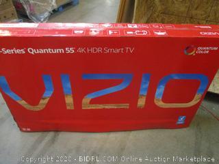"""Vizio M-series Quantum 55"""" TV  Powers on"""