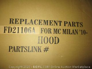 Replacement Part  Hood