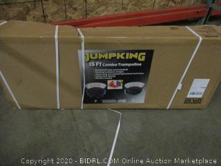 Jumpking 15Feet Combo Trampoline Incomplete