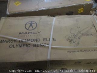 Marcy Diamond Elite Olympic Bench