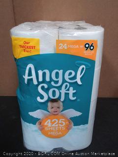 Angel Soft Mega Rolls, 24 Count
