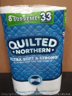 Quilted Northern 8 Supreme rolls