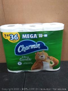 Charmin Ultra Gentle Mega 9 rolls