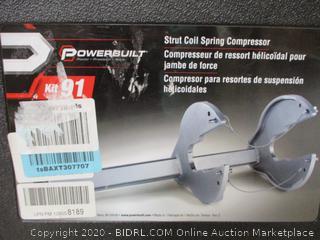 Powerbuilt StutCarhartt 6-Pack Beverage nd Strut coil compressor kit