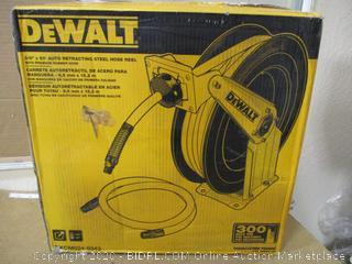 Dewalt- Auto retracting Steel Hose Reel