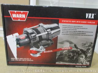 """Power Sport Winch with handlebar mounted switch and synthetic rope 1/4"""" diameter X 50"""" length (Retails at $399.99)"""