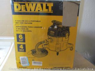 Dewalt DXV06P 6 Gallon Wet/Dry Vac