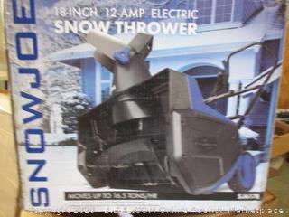 Snow Joe SJ617E Electric Stage Snow Thrower (18-Inch, 12 Amp Motor)