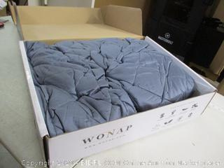 """Wonap- Cooling Weighted Blanket- 20 LBS- Queen (60"""" x 80"""")"""