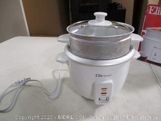 Elite Gourmet- Rice Cooker & Steamer