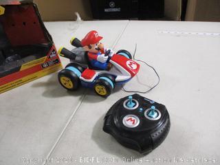 Jakks Pacific- World of Nintendo- MarioKart Mini Anti Gravity R/C Racer