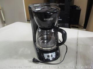 Black + Decker- 12 Cup Programmable Coffee Maker