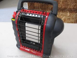 Mr. Heater F232000 MH9BX Buddy 4,000-9,000-BTU Indoor-Safe Portable Propane Radiant Heater, Red-Black  (RETAIL $74)